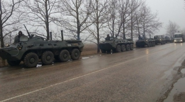 Совет Федерации разрешил Путину ввести войска на Украину