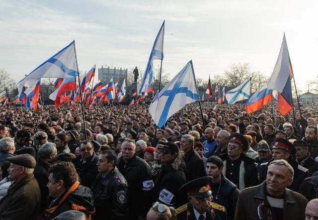 Восставший Крым: интервью с журналистом из Севастополя