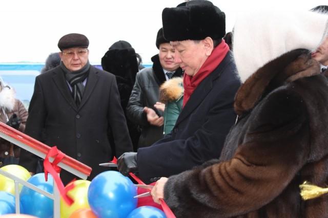 В Актау открылось здание городского филиала партии Нур Отан