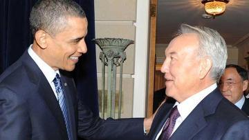 Обама и Назарбаев подтвердили важность поддержания территориальной целостности Украины