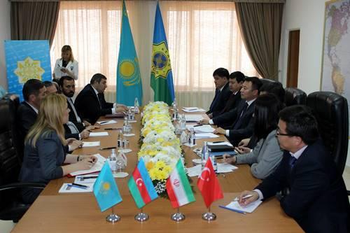 Консулы Азербайджана, Ирана и Турции встретились с таможенниками Мангистау