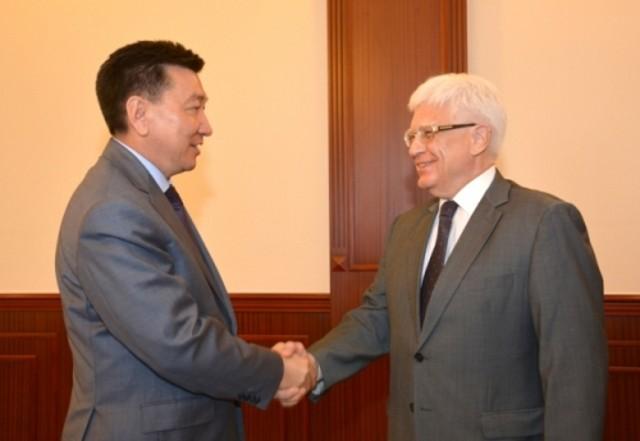 Аким Мангистау встретился с Послом России в Казахстане