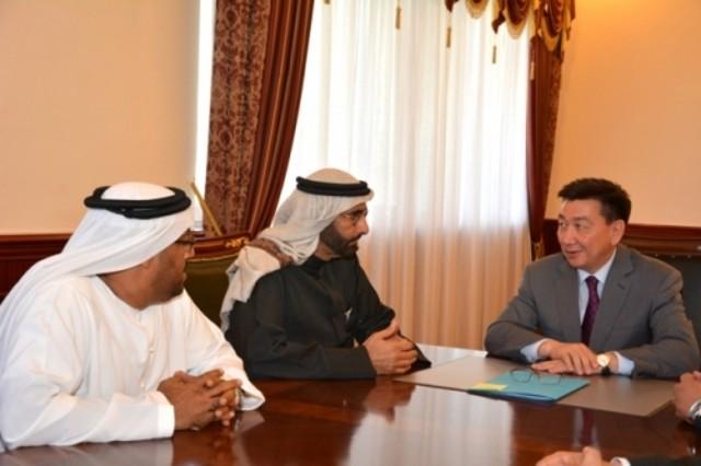 Аким Мангистау встретился с генеральным секретарем исполнительного совета Абу-Даби