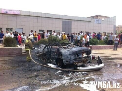 Специалисты назвали причину взрывов автомобилей в Актау
