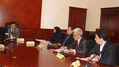 В Актау прибыла делегация Исламской Республики Иран