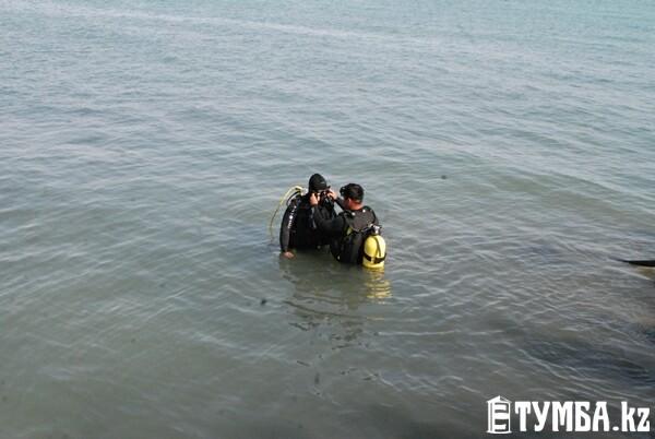 Водно-спасательная служба ДЧС по Мангистау предложила журналистам побывать в роли спасателей