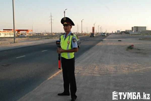 Журналист «Тумбы» провел ночное дежурство с полицейскими Актау