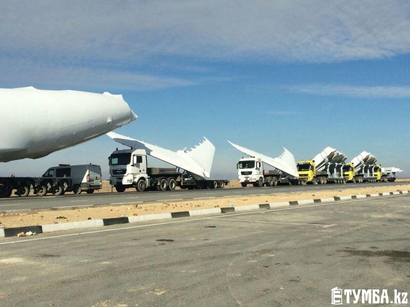 Комплектующие части к самолетам Ил-76 переправят через морской порт Баутино