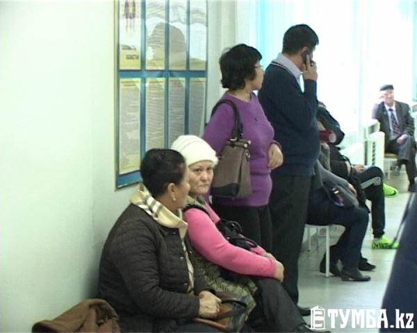 В Актау в поликлинике №2 на приеме у доктора скончался пациент