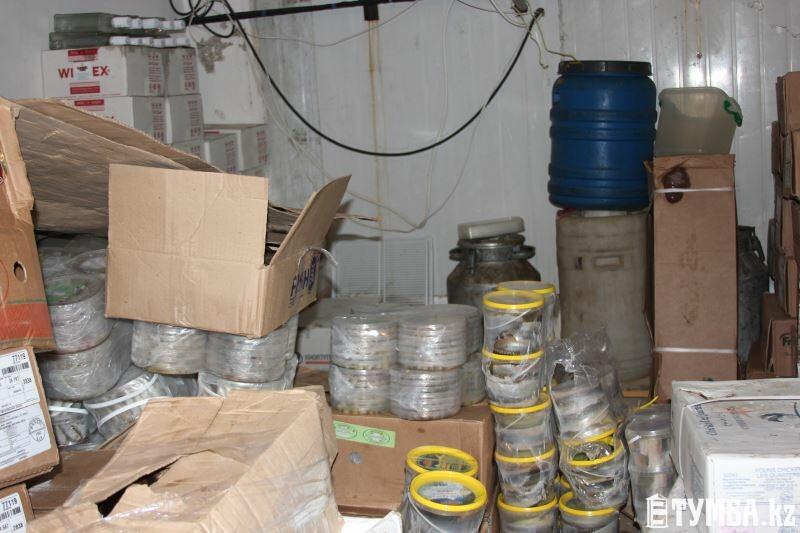 В одном из магазинов Актау обнаружено более 40 рыб осетровых пород