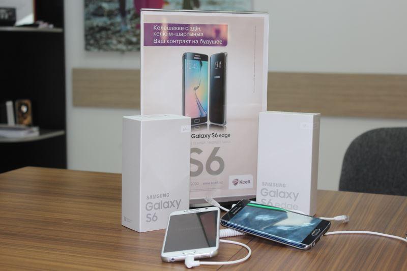 В Актау стартовали продажи флагманов Samsung