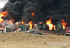 Самый крупный за последнее десятилетие пожар в Казахстане произошел вблизи Актау