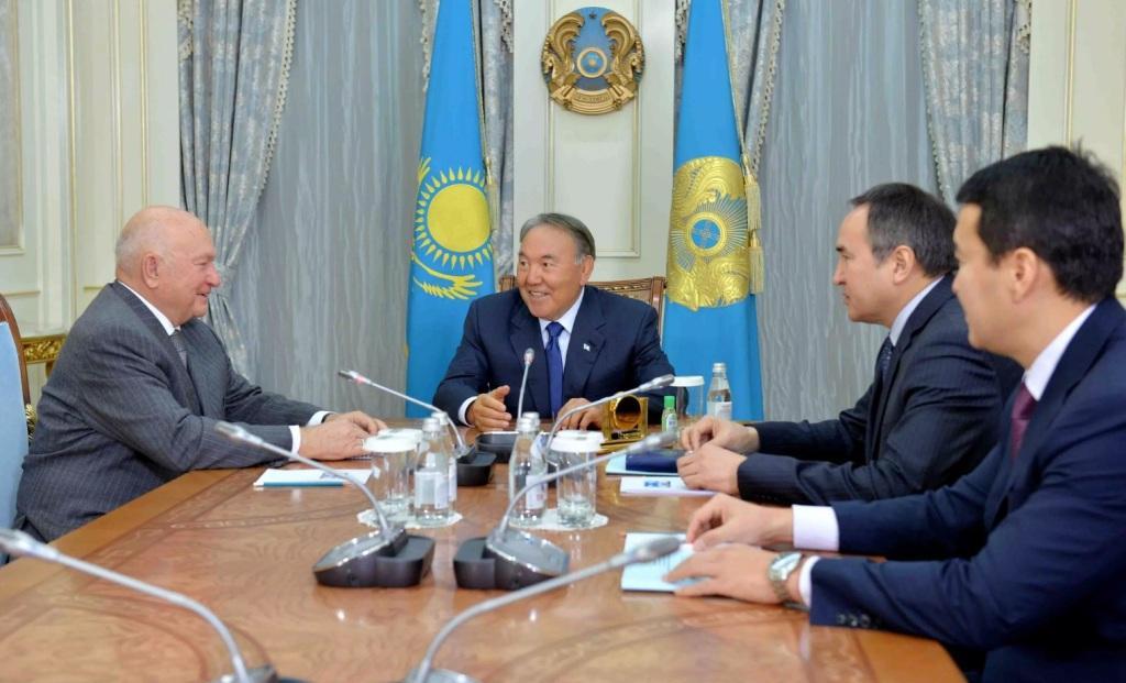 Лужков предложил построить водовод вКазахстан за $2 млрд