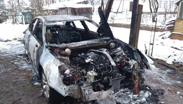 ВПскове подожгли автомобиль координатора штаба Собчак
