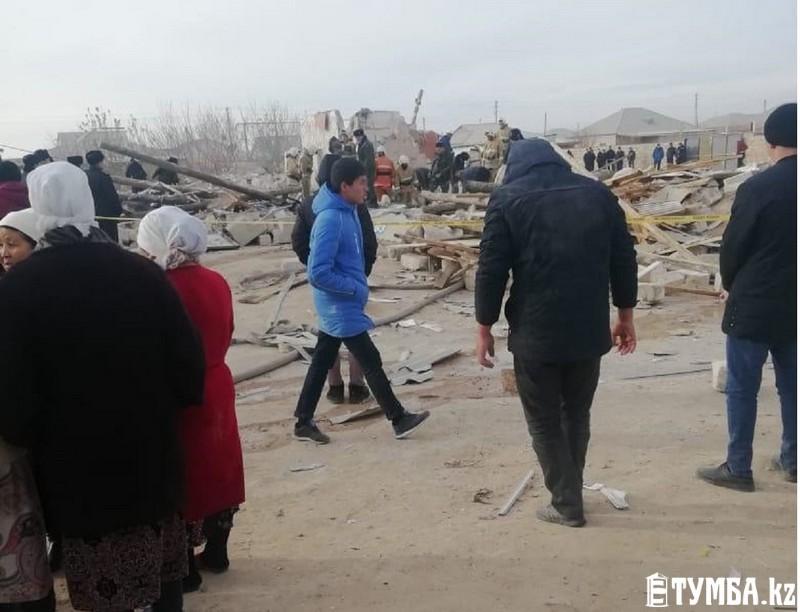 В больнице скончался пострадавший при взрыве дома в Жанаозене
